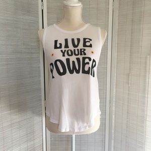 "Chaser ""Live Your Power"" Tank"
